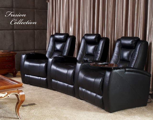 Beau Fusion Collection Escape   1019 Home Theater Seating: Ultimate Home  Entertainment